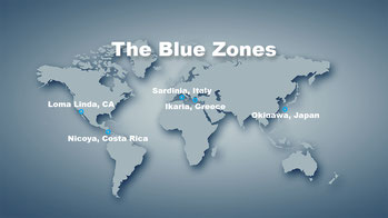 These are the 5 famous Blue Zone's from Dan Buettner's book but there are many other long lived people's such as the Hunza, Abkhazians, Cretans and Sardinians