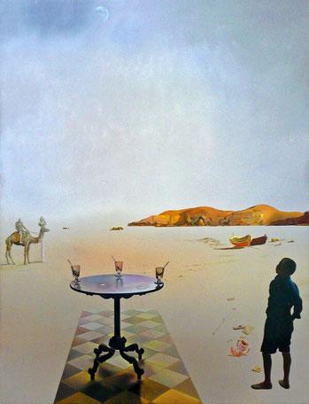 Солнечный столик - Сальвадор Дали