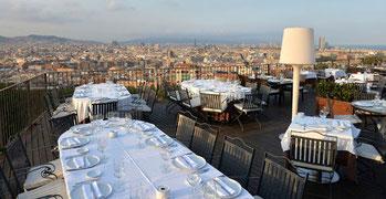 Рестораны Барселоны с панорамными видами