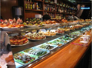 Лучшие тапас-бары Барселоны