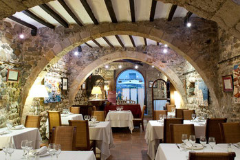 Cúria Reial - ресторан в Бесалу (Каталония)