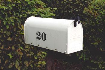 Briefkasten, Post