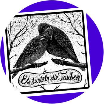 Tier-Siebdrucke von Phillip Janta! Blubb macht die Qualle!