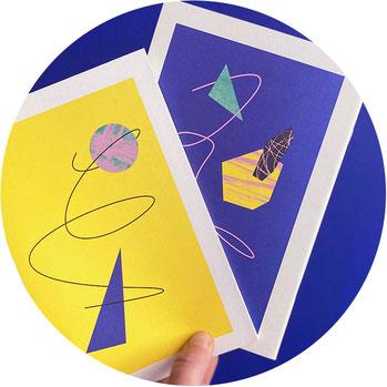 Karten von Marion Blomeyer!