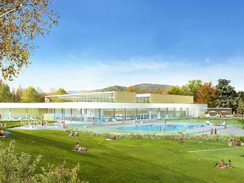 La piscine de Vaure, gérée par la Communauté d'Agglomération, est située sur la commune d'Annonay.