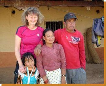 Susmitas Eltern