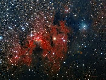 Nebulosa de La Caverna (SH2-155)