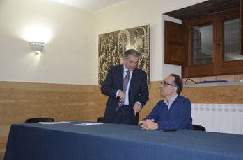 Con il Presidente del Rotary Club Michele Parisi