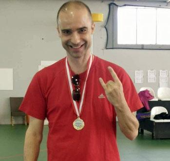 40+ Sieger Christian Vogel am Türkei Open 2017