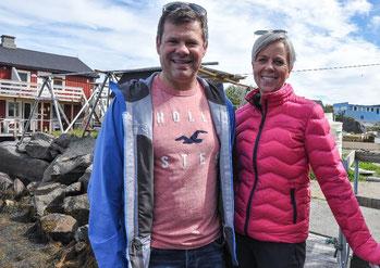Trond-Ketil aus Ballstad mit Ehefrau