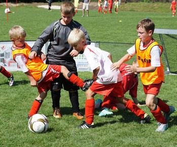 Aus Talente werden Fußballprofis