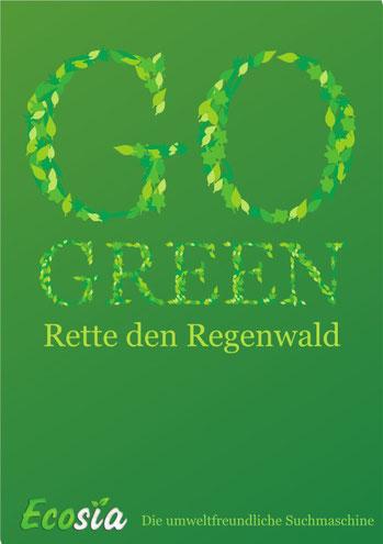 · go green · ecosia © 2010
