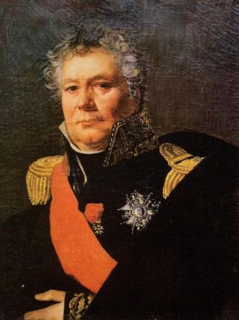 Général de division Antoine François Andréossy, comte de l'Empire par lettres patentes du 24 février 1809.