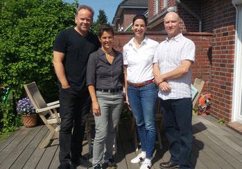 Produktion Audioguides.Kempcke, Hinz, Dorenburg, Stroemer