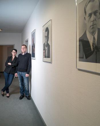 Aline und Philipp Glosse