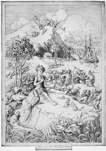 Il·lustració original de F. D. Bedford (1911)