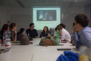 During the seminar. Photo by Lera Lazareva