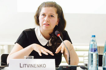 Anna Litvinenko. Photo by Manuel Frauendorf