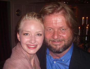 Mit der Tänzerin Eileen - Christian Knudsen, Zauberer in Hamburg