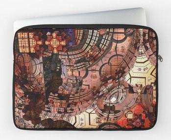 Sven Fauth - Fraktale Kunst - Laptop Hülle