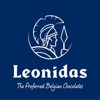 comptoir de pralines Leonidas