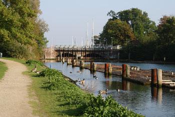 Kanalfeuer Nord-Ostsee-Kanal