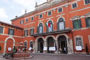 Palazzo Carli, in Verona, sede della Mostra