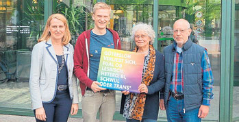 Organisieren die Aktionswoche: Silke Niermann, Stefan Matthias Pape sowie Marianne und Detlef Kerkhoff (von links). Foto: Julia Risse