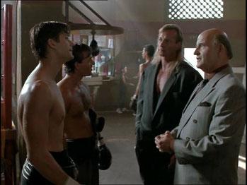 Kickboxer 2 mit Peter Boyle und Sasha Mitchell