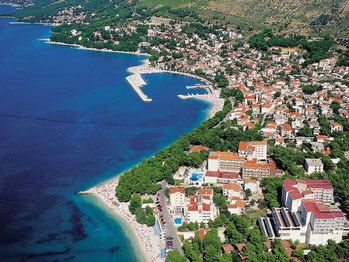 Апартаменты в Башке Воде. Хорватия.