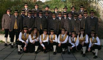 """Musikverein Stammersdorf 2010 - noch mit den """"alten Uniformen"""""""