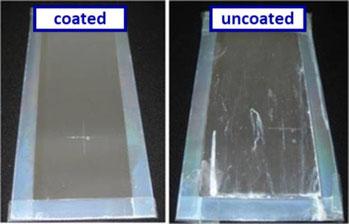 Transparent scratch-resistant corrosion protection for aluminium coil