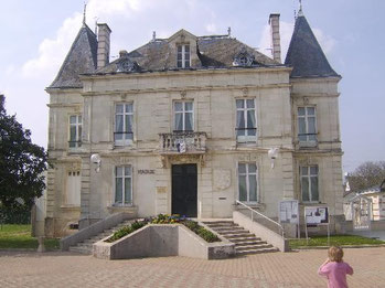 Le château de Marguerite Bellanger, actuelle mairie