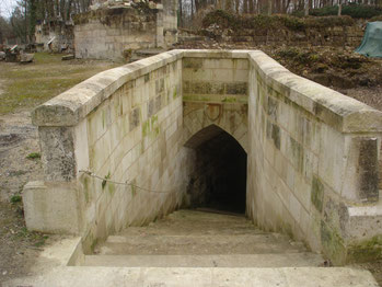 Entrée des souterrains
