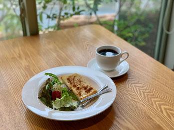 豊橋、田原、豊川モーニング、天然酵母パン、オーガニックコーヒーとともに。
