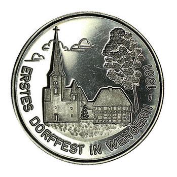 Silbermünze Wetter Ruhr