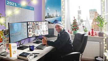 Weihnachtsspende: meteocontrol unterstützt den Bunten Kreis mit einer Charity-Challenge.