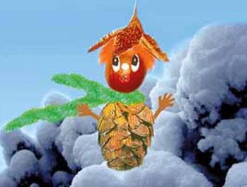 Dany gehört zum Stamm der Waldwichtel - eigentlich sollte er im Winter wie Igel  in seinem Nest schlafen, doch er wird wach....