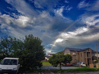 2021/010_05:44:21 南の空に虹