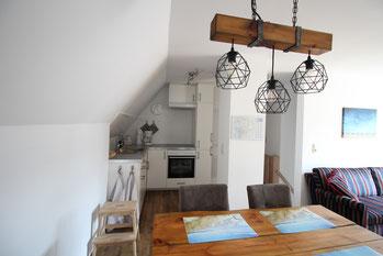 Ferienwohnung Scholle Küche