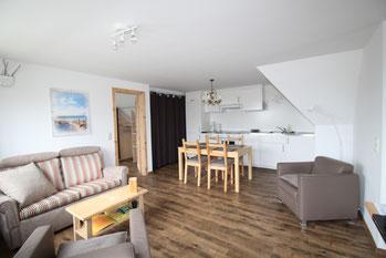 Ferienwohnung Seestern Küche