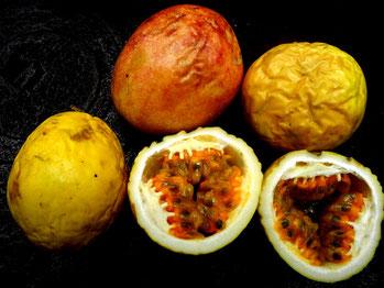 5 Maracuya fruits