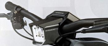 Haibike Flyon und die integrierte Beleuchtung
