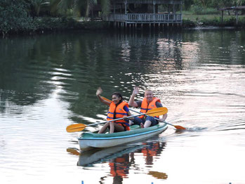 Kayaking Ream River Sihanoukville
