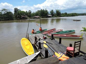 Boat trip, kayaking, crruise Ream River Sihanoukville