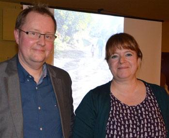 Referent Klaus Meyer und Kerstin Wohlers vom LandFrauenvorstand