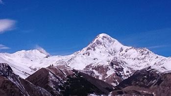 Mt. Kasbek, 5'033m, 17/03/2016.