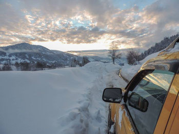 The road trip up to Goderdzi Pass was epic ...