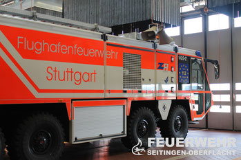 Ausflug zur Flughafenfeuerwehr Stuttgart am 21.09.2013