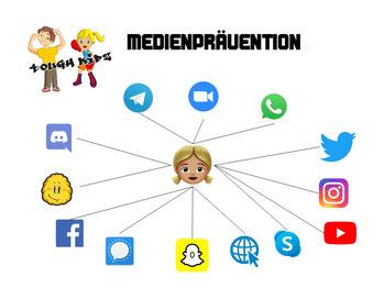 Tough Kidz - Medienprävention - Soziale Netzwerke und Apps - Cyber-Grooming, Mobbing, Bullying, Missbrauch, Hassrede